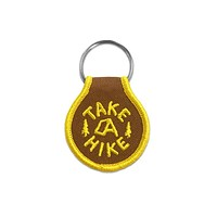 Take A Hike Keychain
