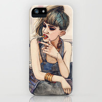 Grimes iPhone Case by Helen Green   Society6