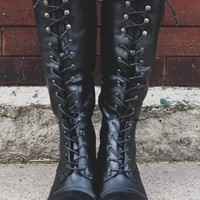 Join the Ranks Boot - Black