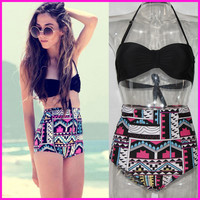 Tankini Two Piece Bathing Suit