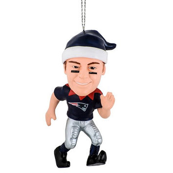 NFL New England Patriots Gronkowski R. #87 Resin Player Elf Ornament