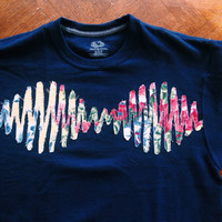 Arctic Monkeys sweatshirt -sound wave -Chose your color fabric!