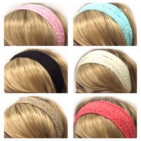 """Fashionable """"Lovely In Lace"""" Headbands, HeadWraps,Women's Accessories"""