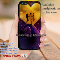 Love Hill Nightmare Before Christmas iPhone 6s 6 6s+ 5c 5s Cases Samsung Galaxy s5 s6 Edge+ NOTE 5 4 3 #cartoon #animated #NightmareBeforeChristmas dl12