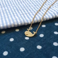 Whale Charm Necklace