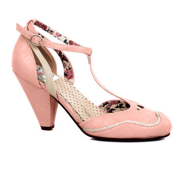 Pink Closed Toe Annalise D'orsay Pumps