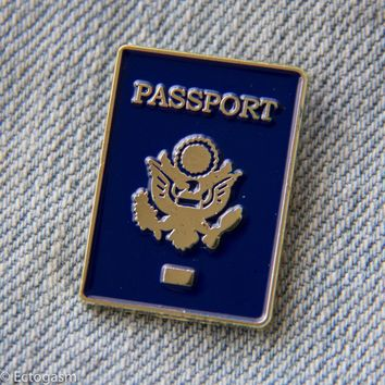 Passport Lapel Pin