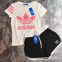 Adidas You Fall In Love With Men And Women Sportswear Two Sets