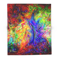 Society6 Lava Lamp Blanket