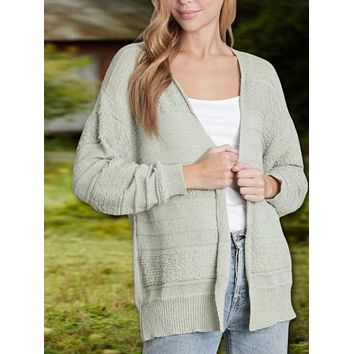 Tara Textured Knit Cardigan