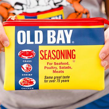 Old Bay Can / Wristlet