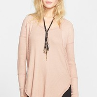 Women's Free People 'Ventura' High/Low Thermal Top,