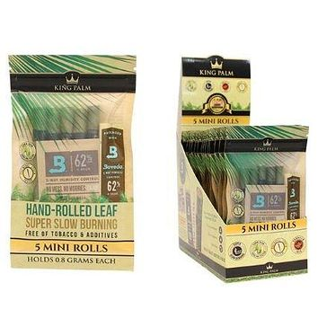 King Palms Super Slow Burning Wraps - Minis (5 Pack)