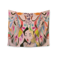 "Vasare Nar ""Alice in Wonderland"" Wall Tapestry"