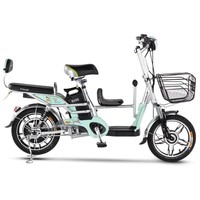 16-inch Family Electric Bike With Child Seat