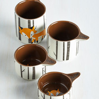 Critters Walk on the Wily Side Measuring Cups by ModCloth