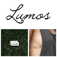 Harry Potter - Lumos - Temporary Tattoo (Set of 2)