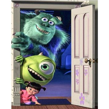 5D Diamond painting Sulley, Mike and Boo Monsters Kit
