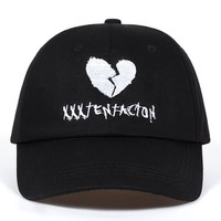 Trendy Winter Jacket American Rapper xxxtentacion Memorial Baseball Cap Fans Snapback Caps Men Swag Black Dad Hat Outdoor Casual Sun Women Bone AT_92_12