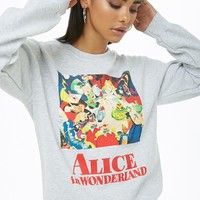 Alice in Wonderland Graphic Sweatshirt