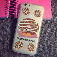 Limited Edition Sweet Doughnut Silicone iPhone 7 se 5s 6 6s Plus Case Cover Gift