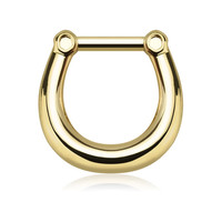 """Plain"" septum clicker"