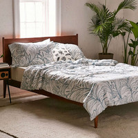 Palma Blue Duvet Cover - Urban Outfitters