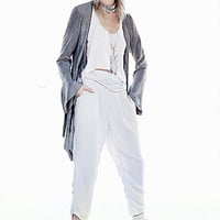 Free People Womens Got Me Twisted Solid Harem Pant