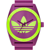 adidas Watch, Purple Polyurethane Strap 42mm ADH2720 - All Watches - Jewelry & Watches - Macy's