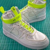 Magic Stick X Nike Air Force 1 Af1 Vip White Fashion Shoes - Best Online Sale
