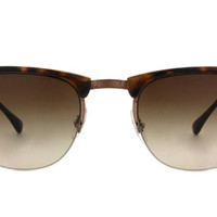 Try-on the Ray-Ban Lite Ray Clubmaster RB8056 at glasses.com