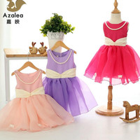 2015 Summer New Girls Korean Fashion Lace Princess Dress Children's Dresses Girls Clothes kids Dresses Baby Girl Dresses.