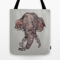 I Forget Where We Were Tote Bag by Huebucket