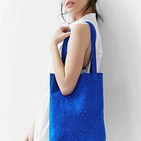 Pine + Boon Suede Dot Tote Bag