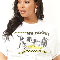 Plus Size No Doubt Band Tee