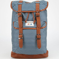Benrus Scout Backpack Navy Stripes One Size For Men 23709721101