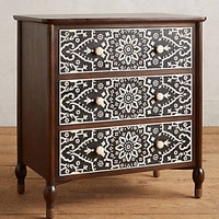 Tapestry Inlay Nightstand