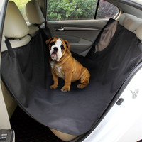 Black Waterproof Car Pet Cushion