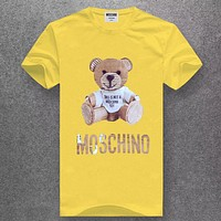 Moschino Fashion Casual Short Sleeve Top Tee