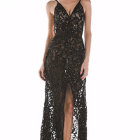 Hye Sequin Luxe Gown