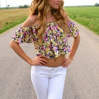 Girls Just Wanna Have Fun Top: Multi