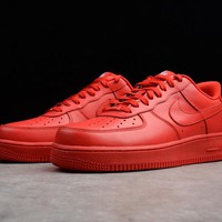 "NIKE AIR FORCE ONE ""TRIPLE RED"" SNEAKER AH6512-991"