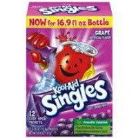 KOOL AID SINGLES DRINK MIX