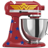 Wonder Woman Inspired Mixer Decals for your by GoodMommyLtd