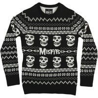 Misfits Men's  Merry Misfits Sweatshirt Black