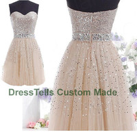 Short Prom Dress - Mini Prom Dress / tulle dress prom / Homecoming Dress / Short Cocktail Dress / Sweet 16 Dress/evening dress prom
