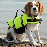 Flotation Device Dog Life Vest Jacket