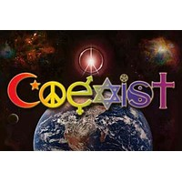 Coexist Universal Peace on Earth Poster 24x36