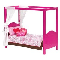 Our Generation My Sweet Canopy Bed - Red
