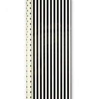 Kate Spade - Reversible Gift Wrap - Gold Dots and Black Stripes